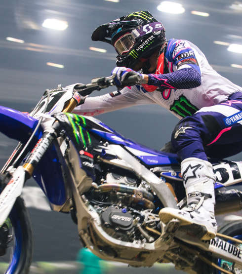 Justin Barcia at the 2018 Geneva Supercross