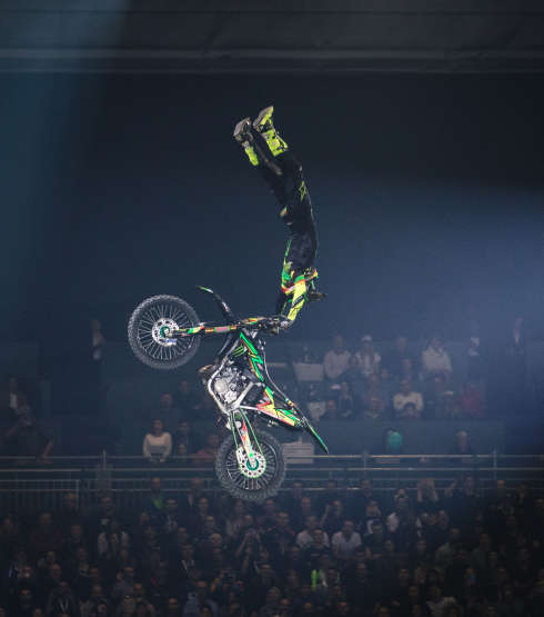 FMX at the 2018 Geneva Supercross