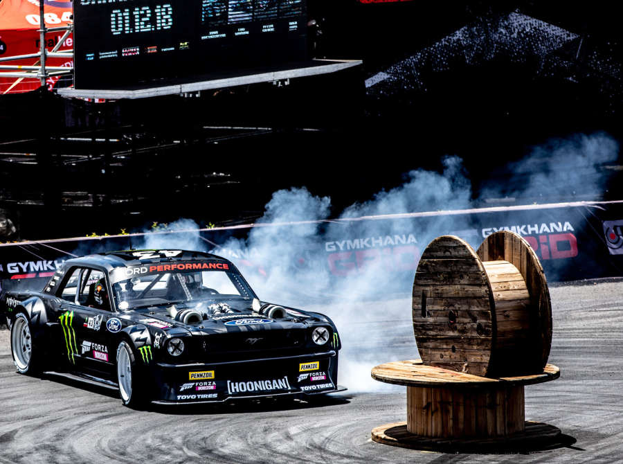 Ken Block at Gymkhana Grid 2018