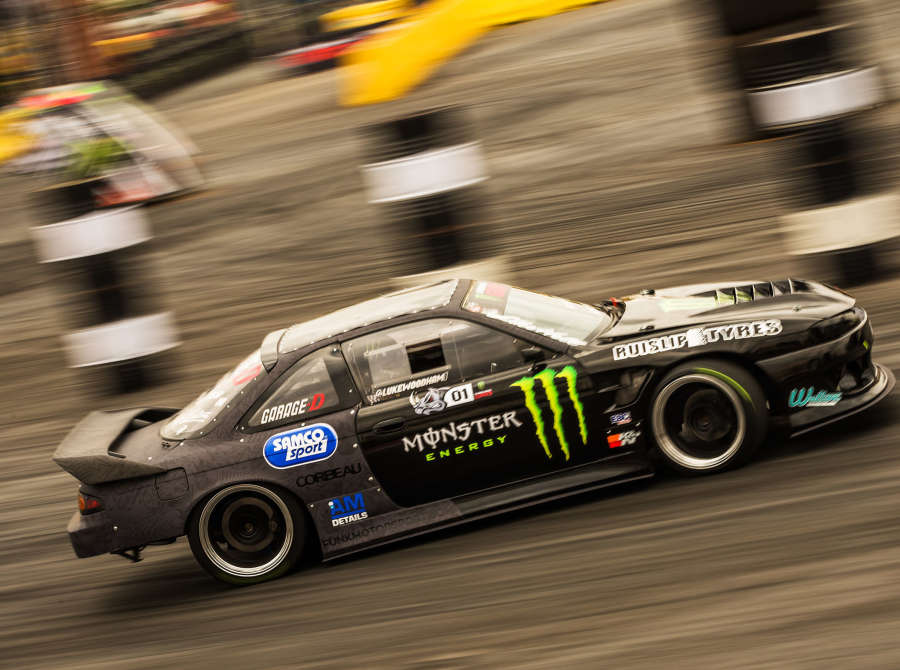 Gymkhana Grid Practice Session in South Africa