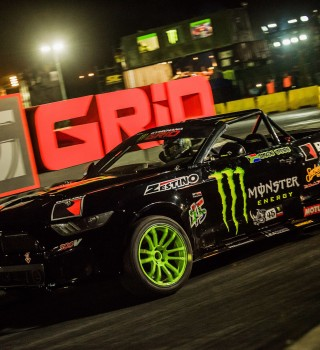 Shots from final race day at Gymkhana Grid in Johannesburg, South Africa