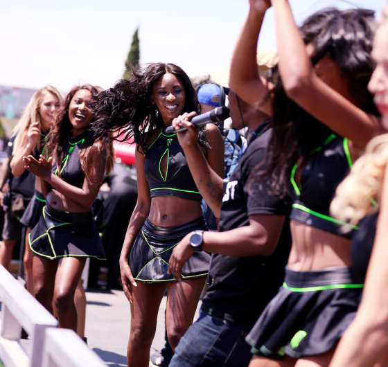 Monster Girls at Gymkhana Grid