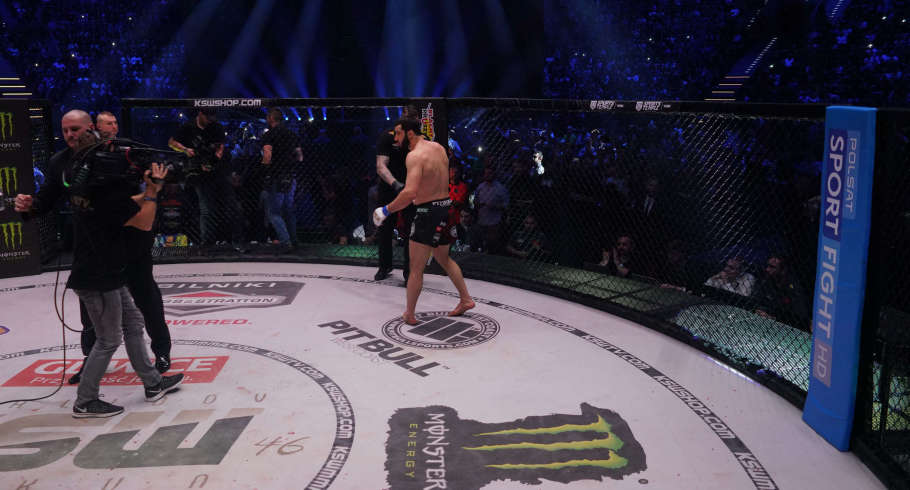 Images from KSW 46 event in Gliwice, Poland.