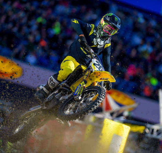 Images from the 2018 Supercross event in Foxborough, MA
