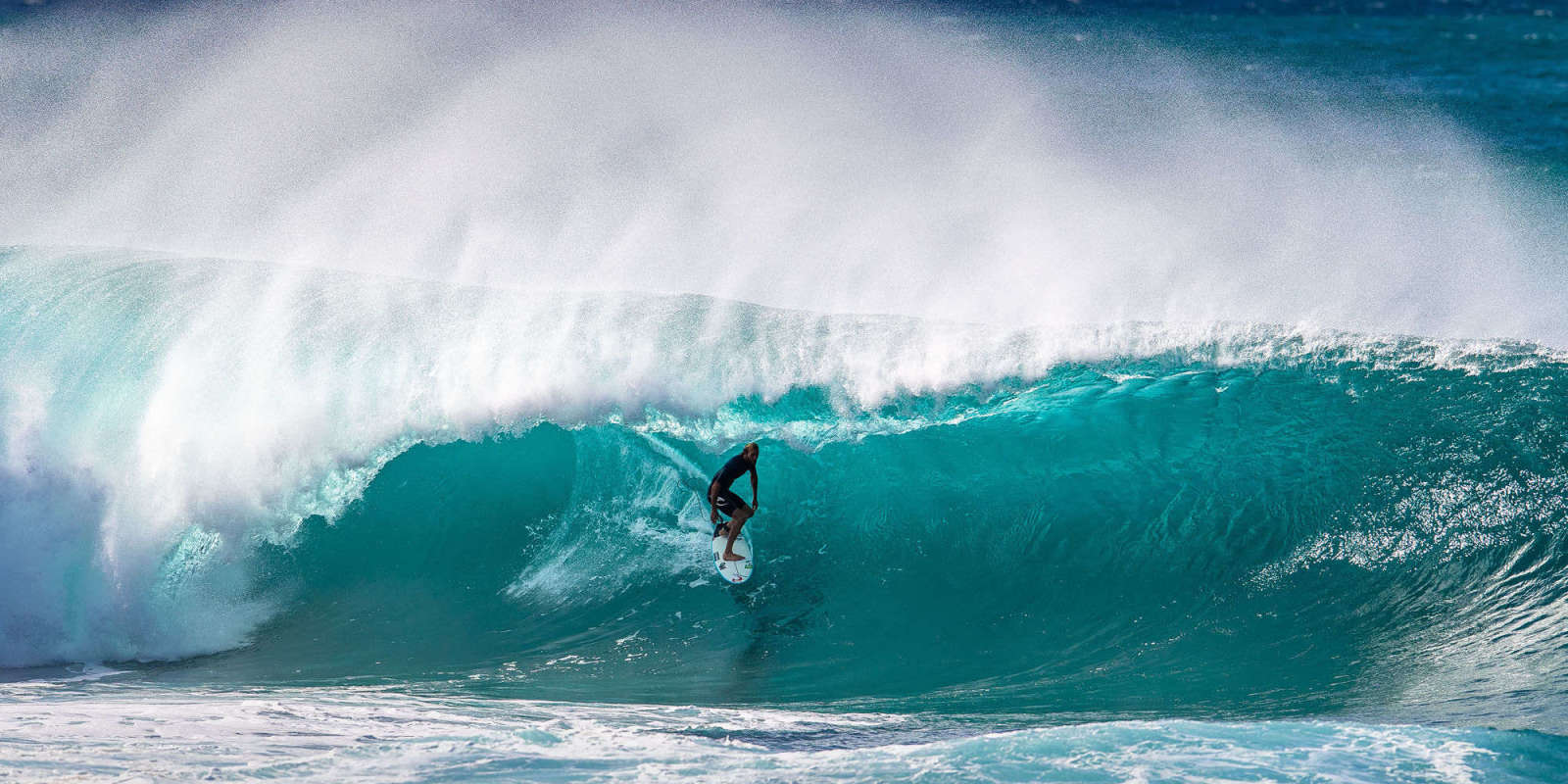 He's back surfing big Pipe for the first time since his traumatic brain injury two years ago, and by all accounts, he's been loving it.