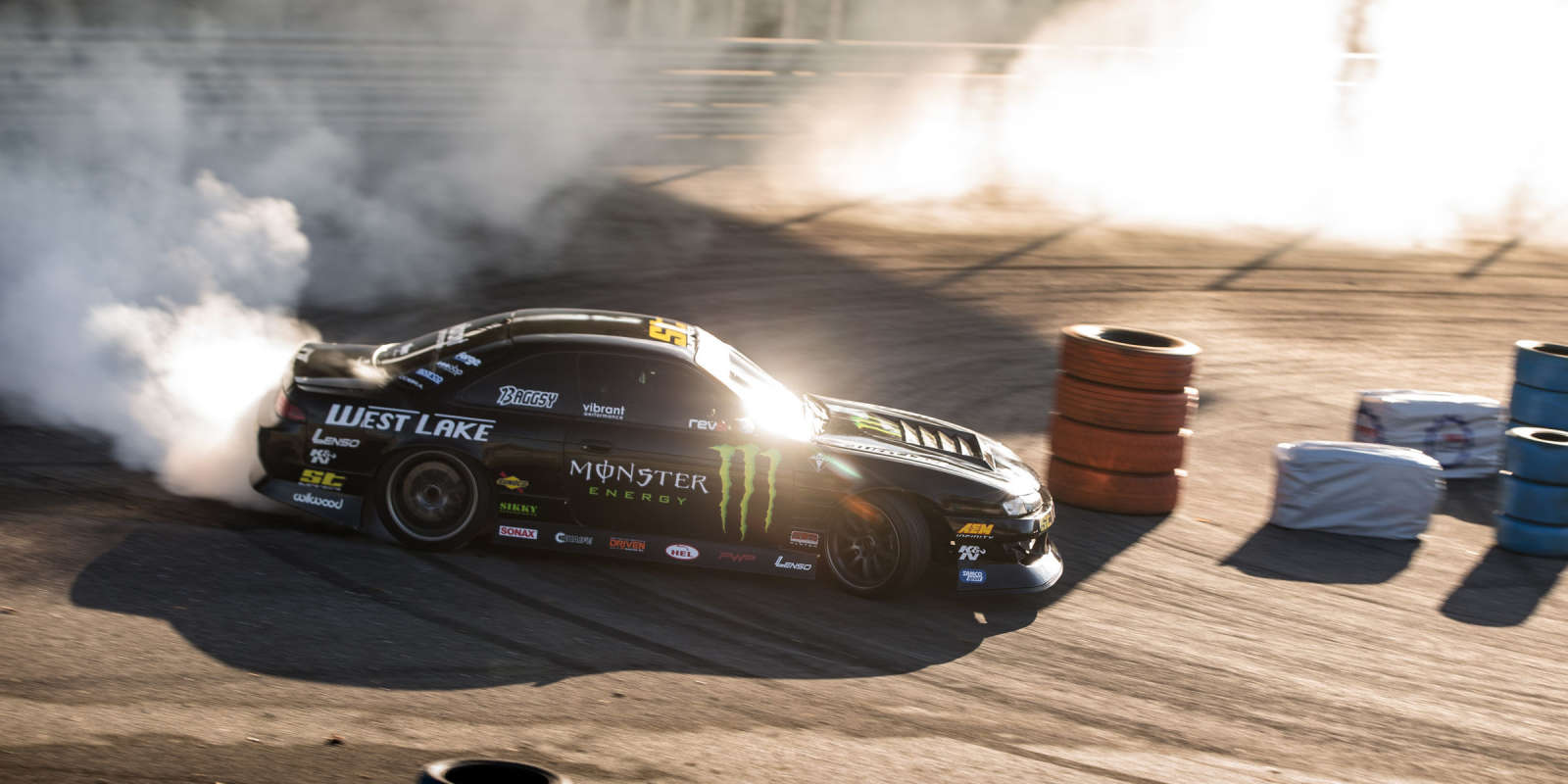 Baggsy at Monza Rally Show 2018