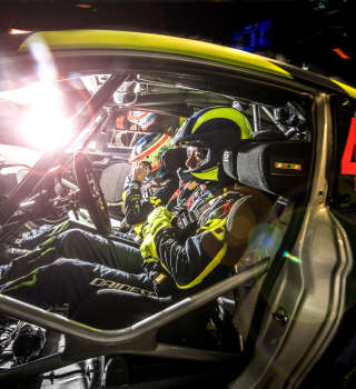 Pictures of day 1 at Monza Rally Show 2018 with Valentino Rossi