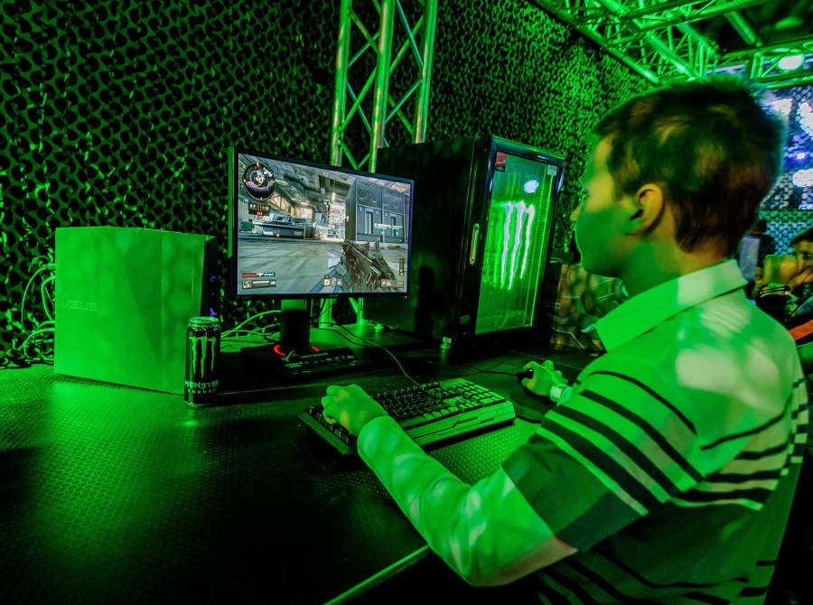 Pictures from the winter edition of a hungarian gaming event Playit, held in Budapest - 2018