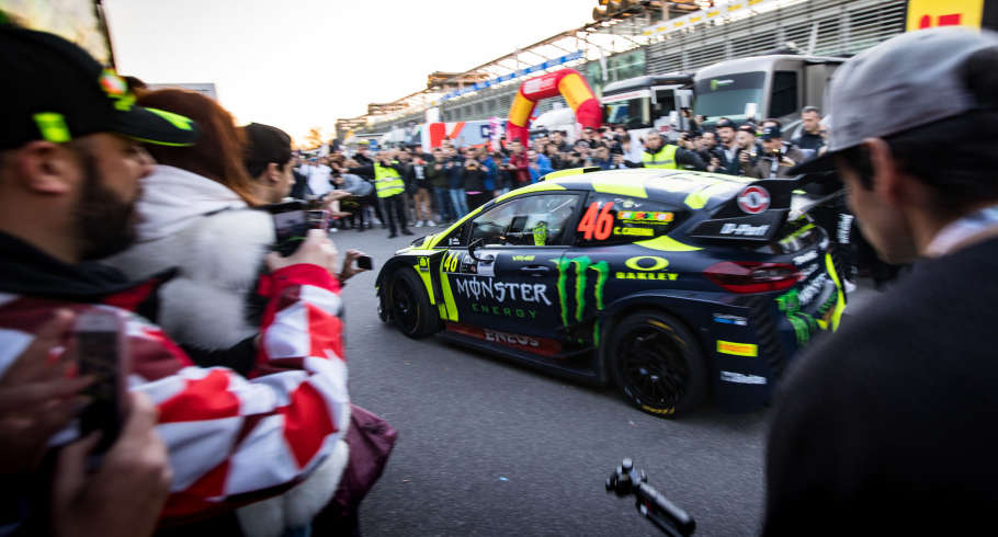 Valentino Rossi at Monza Rally Show 2018