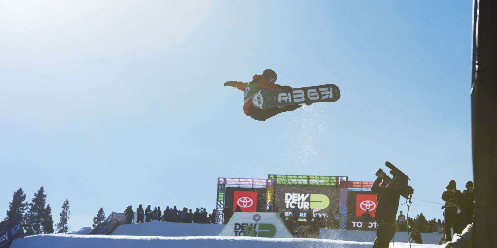 Monster athletes at the Team Challenge at Dew Tour in Breckenridge Colorado