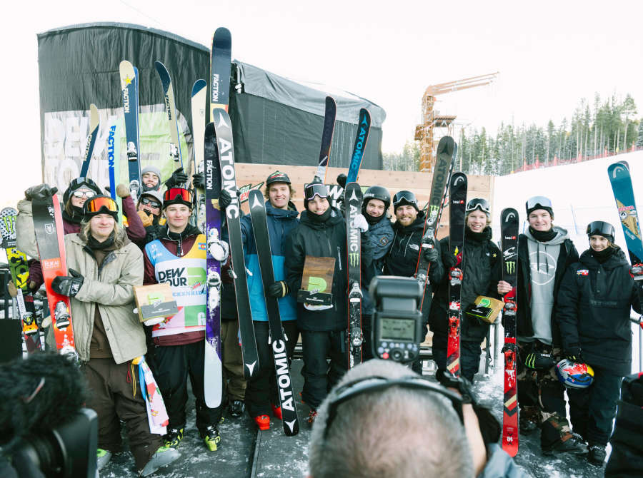 Images from the 2018 Dew Tour in Breckenridge, CO