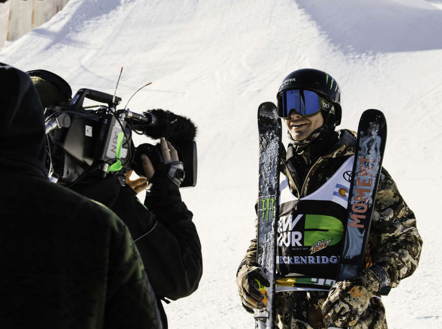 David Wise wins Bronze at Dew Tour Pipe