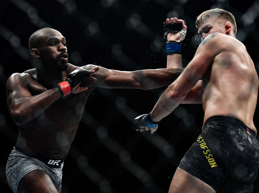 Image from UFC 232 in Inglewood, CA