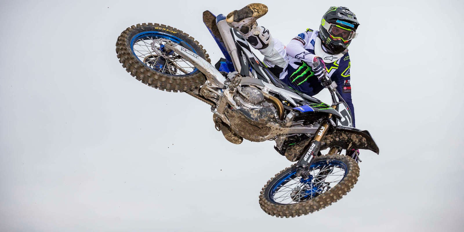 Images of the Monster Energy Yamaha Factory team