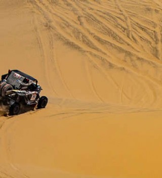 Casey takes the win at the Desafío Inca Rally in Peru for the Dakar Series.