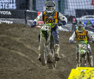 Garrett Marchbanks at the first stop in Anaheim of the 2019 Supercross season