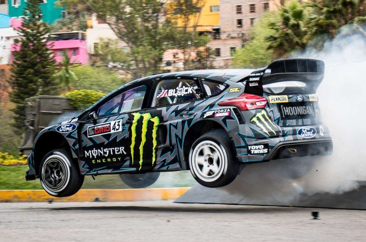 Images from Ken Block's Gymkhana TEN