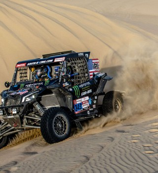Stage two images from the 2019 Rally Dakar