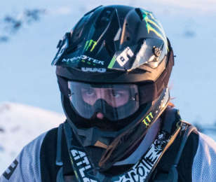Action and portraits of Brett Turcotte training for Xgames.