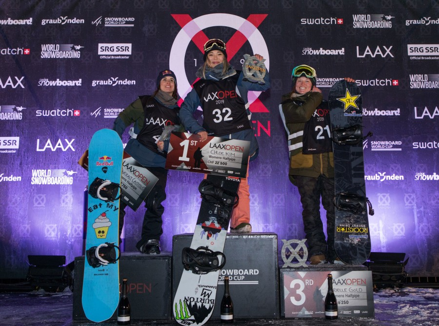 Images from the LAXX Open in the Swiss Alps in Switzerland