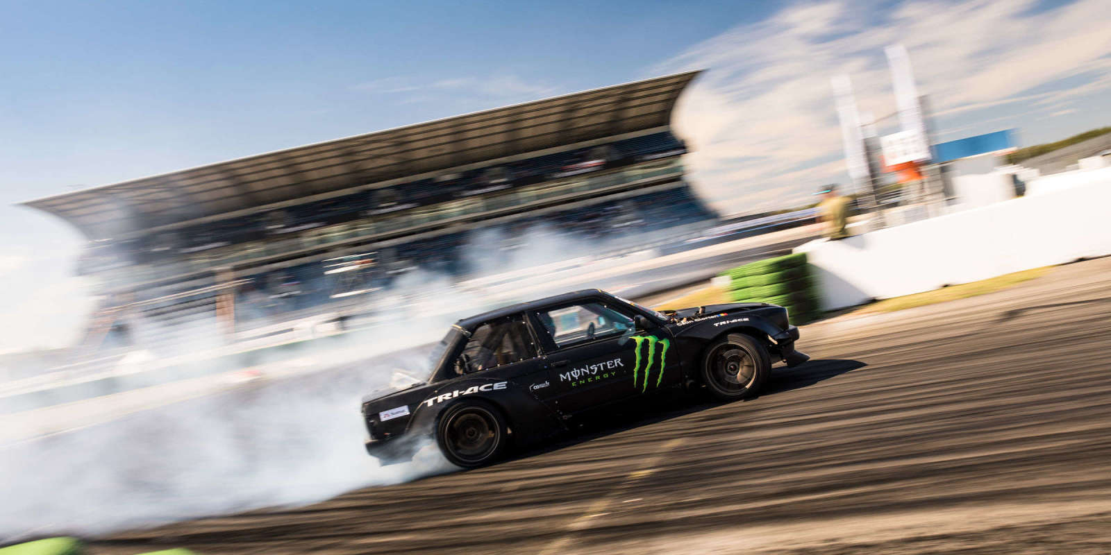 Images from round five of the 2018 Drift Masters European Championship