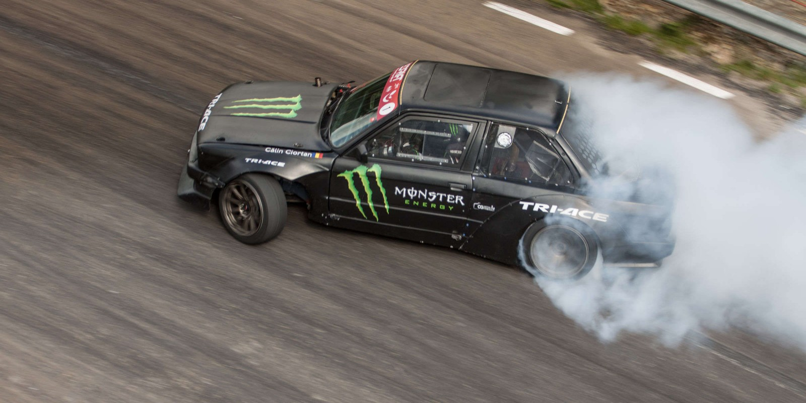 Event imagery taken at the 4th stage of the Romanian Drift Championship.