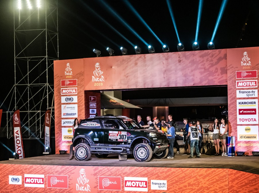 Stage 1 images from the 2019 Dakar Rally
