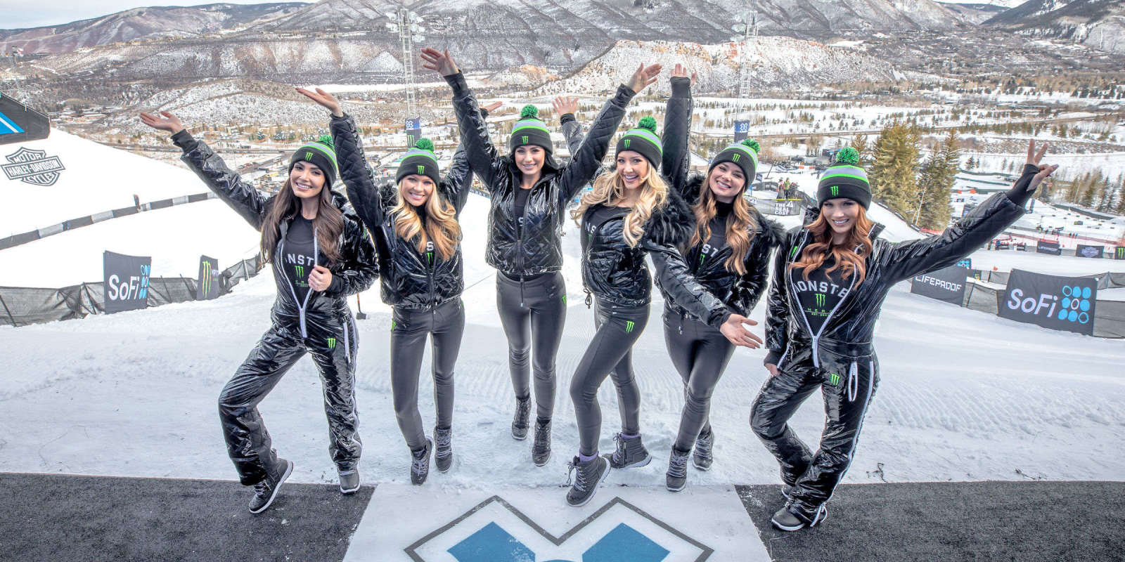 Monster Girls at the 2018 Winter X Games