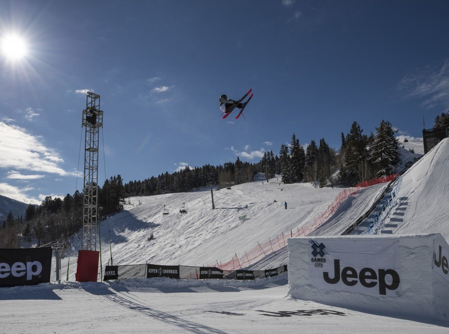 Slopestyle Bronze images from the X Games in Aspen Colorado