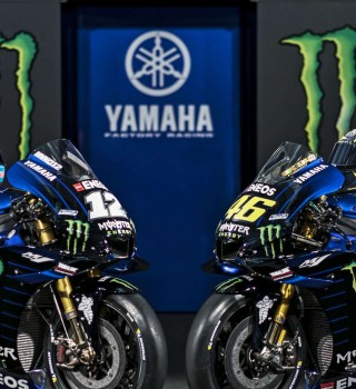 Images from the 2019 Monster Energy Yamaha MotoGP Photoshoot