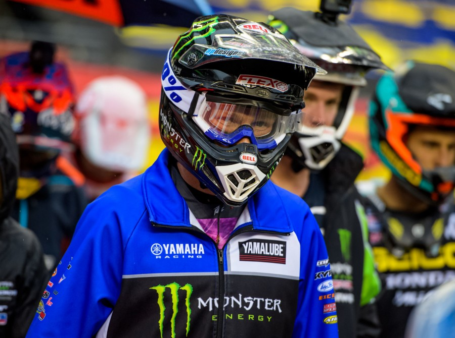 Mitchell Oldenburg at the 2018 Supercross stop in Seattle, WA