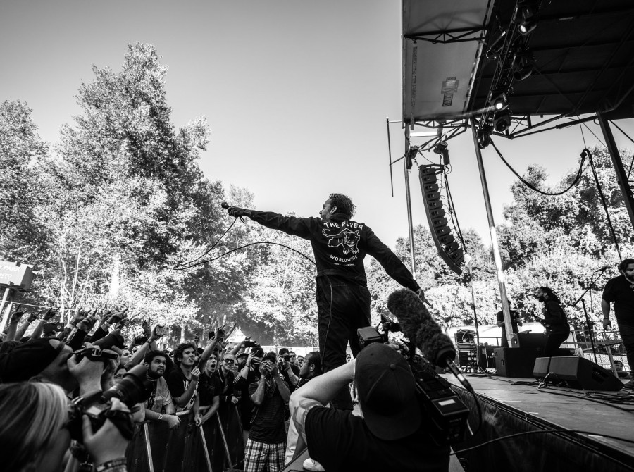 Images from the 2018 Aftershock Festival in Sacramento, CA