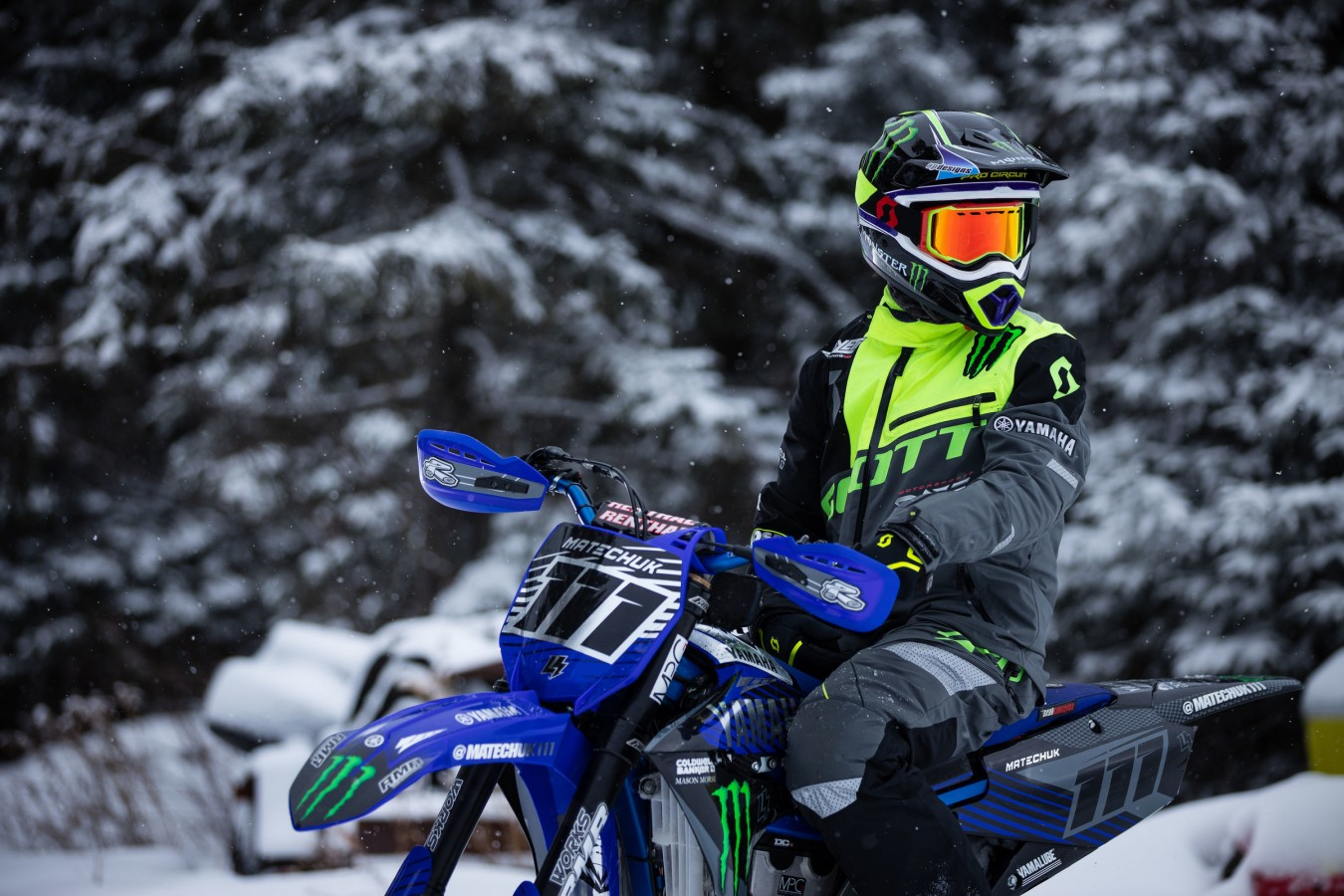 Cody Matechuk 2019 Snowbike reveal and X-games taining from Quebec