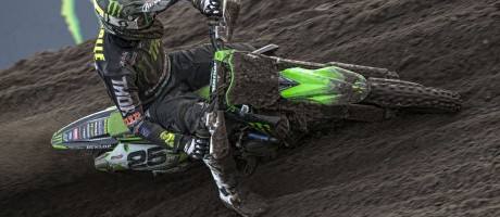 Clement Desalle at the 2018 Grand Prix of Europe