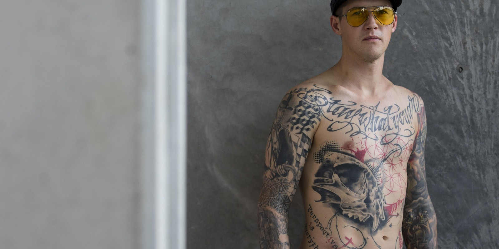 MyInk athlete tattoo blog series for Monster Energy website