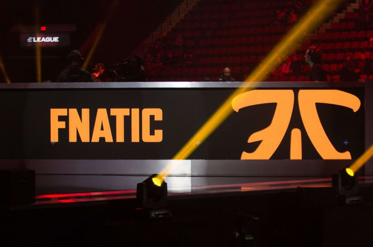 Photos of Fnatic at the ELEAGUE Major in Boston, Massachusetts