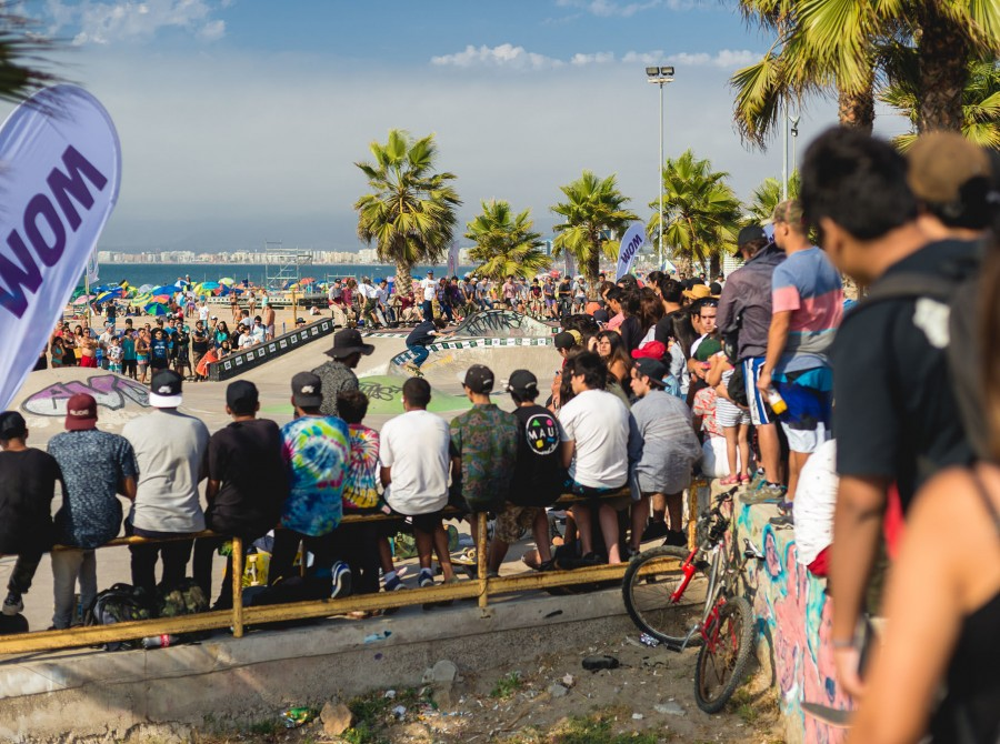 Images from Rey de Reyes stop in Coquimbo