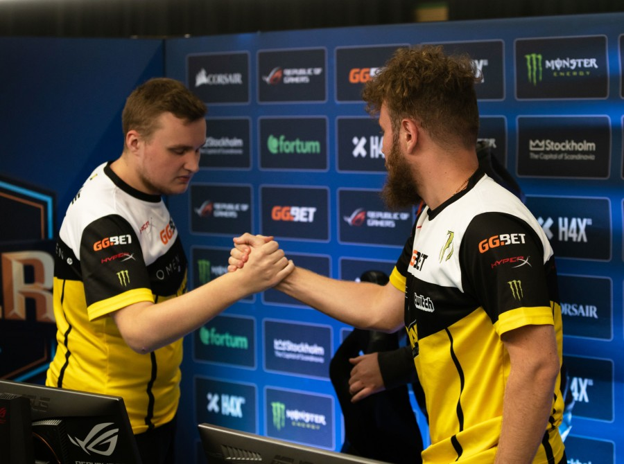 Photos of Navi CSGO at DreamHack Masters in Stockholm Sweden