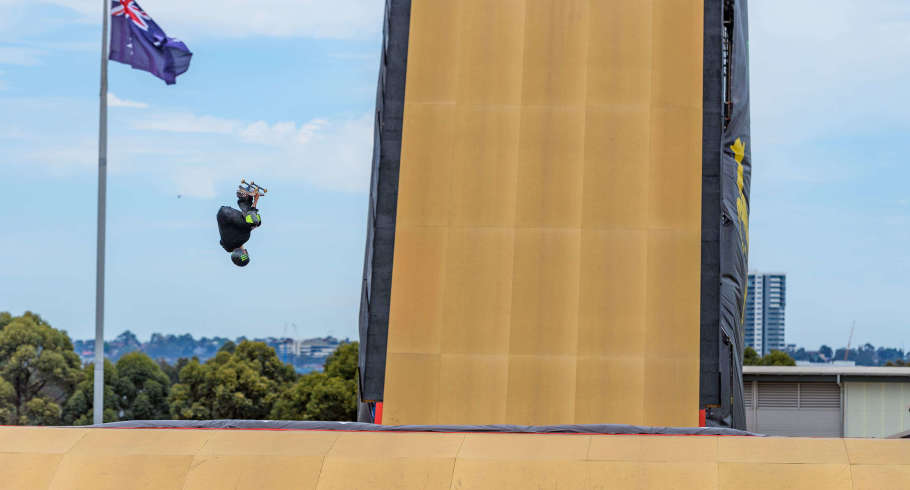 Images from the 2018 X Games in Sydney, Australia