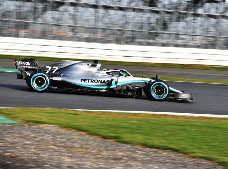 Images of Mercedes AMG Petronas Motorsport Team's 2019 car - the W10