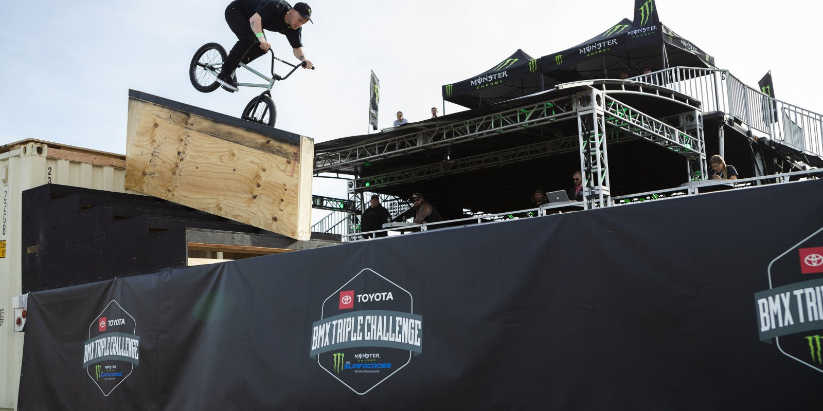Image from the Second stop of the Toyota Triple Challenge in Arlington, Texas