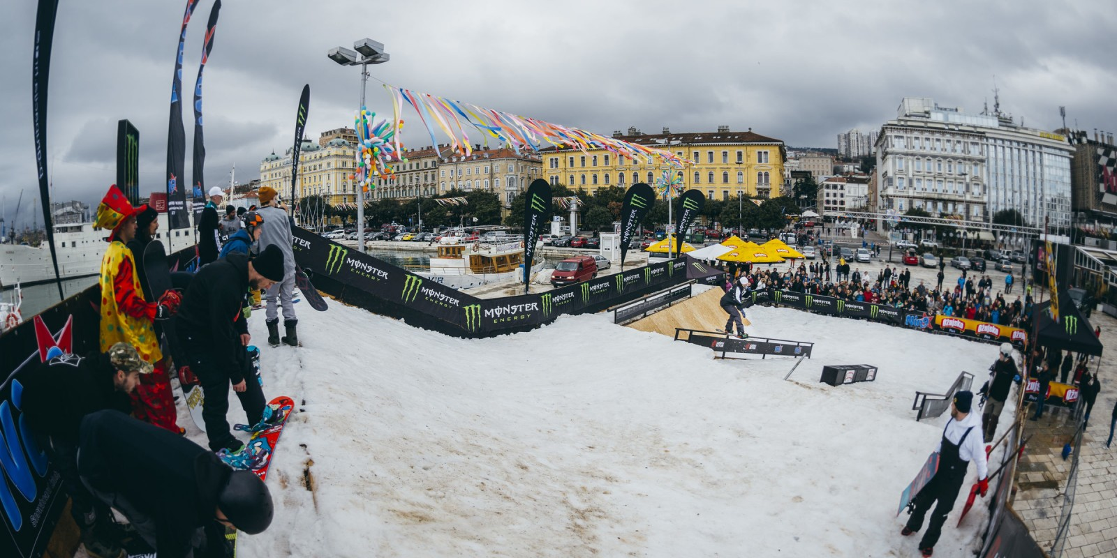 Freestyle Snowboard Event