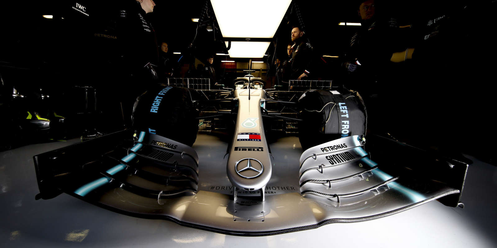 Images from the first official pre-season test of the 2019 F1 season