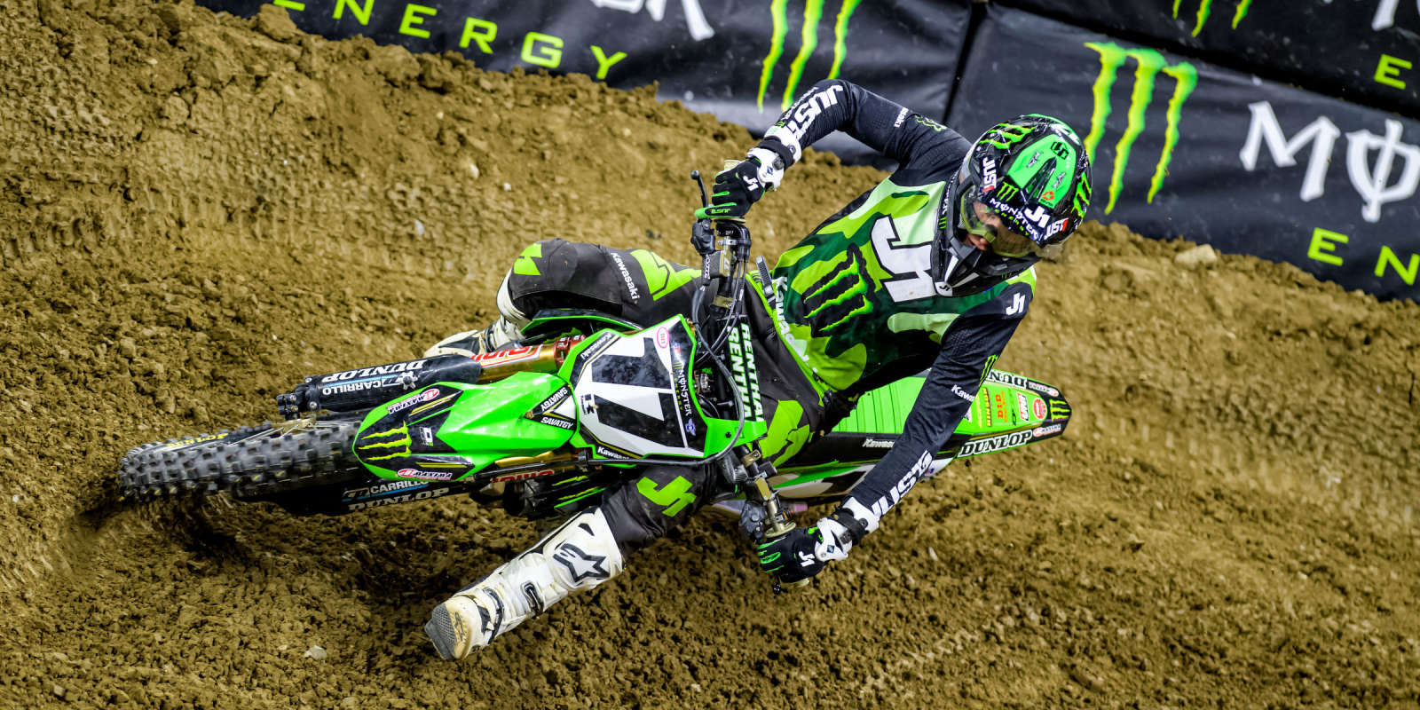 Another fantastic night of racing took place on Saturday at round eight of Monster Energy AMA Supercross in Detroit.