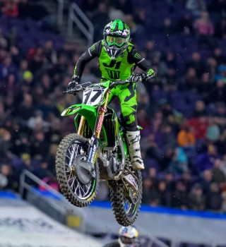 Images from the 2019 Supercross event at Minneapolis, Minnesota