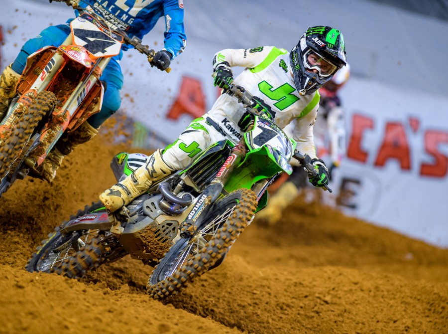 Monster athletes compete in Round 7 of the 2019 Supercross season in Arlington