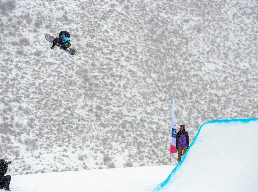 Sven Thorgren in Vail at the Burton US Open
