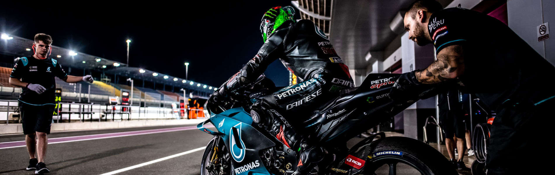 Franco Morbidelli at the 2018 GP of Qatar