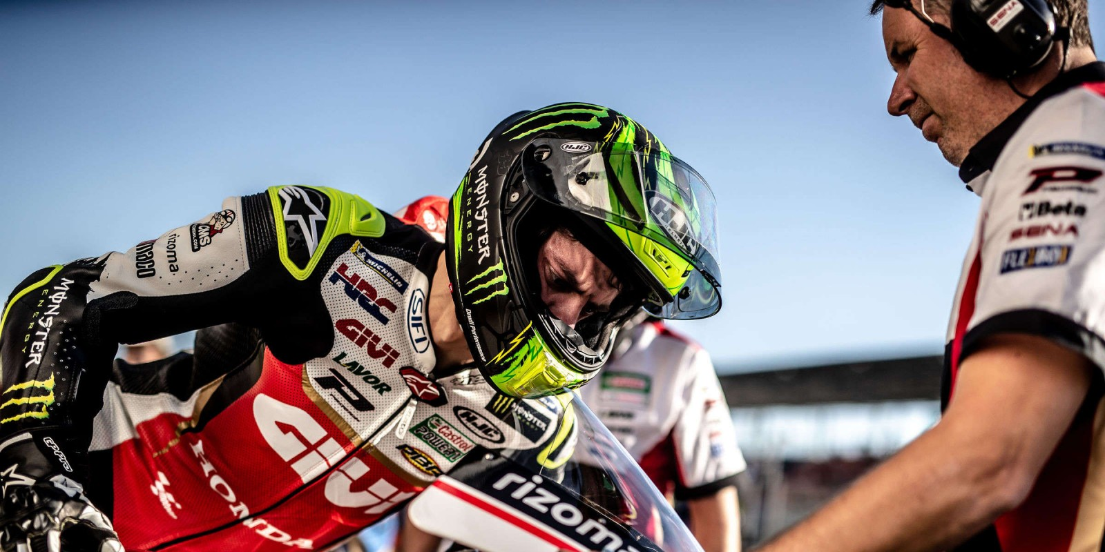 Images from the first day of the MotoGP event in Losail, Qatar