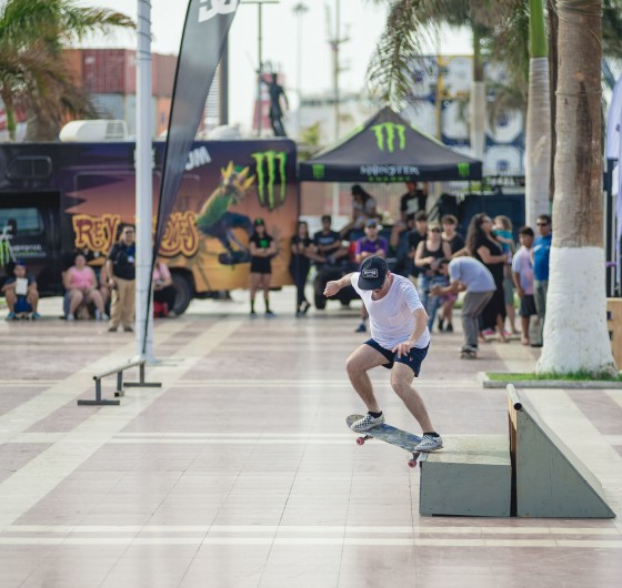 Photos from Rey de Reyes 1st stop skate competition in Arica, Chile